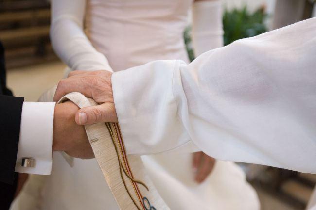 Segnung Brautpaar