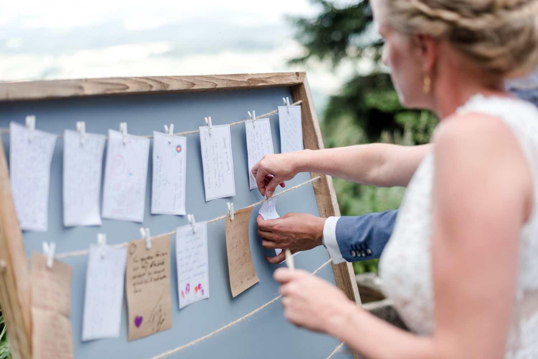 Wünsche ans Brautpaar bei einer freien Trauung als Ritual